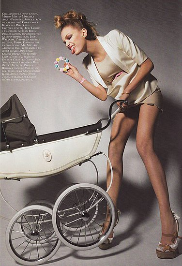 French Vogue&#039;s Take on Motherhood