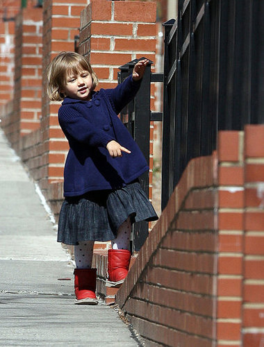 Lil Links: Matilda Ledger Is Always on the Move