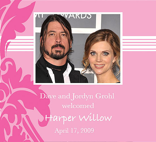 Dave Grohl is Daddy to Another Daughter!