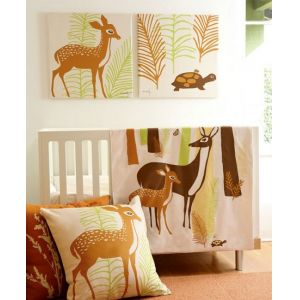 Organic Woods Crib Bedding
