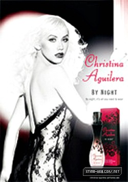 New Christina Aguilera 'By Night' Print Ads