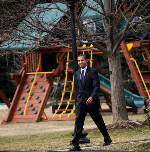 White House Swing Set Pictures