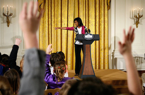 Michelle Obama on Take Your Children to Work Day