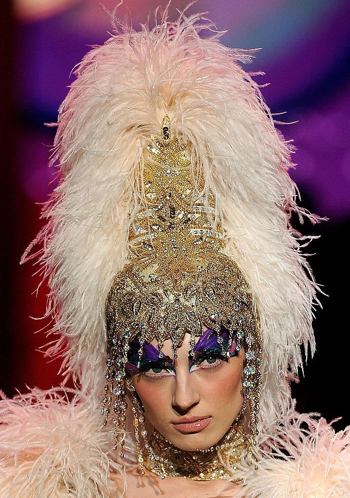 A High Headdress