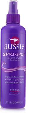 Review of Aussie Catch the Wave Sprunch Hair Spray