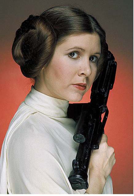 #1: Carrie Fisher in Star Wars