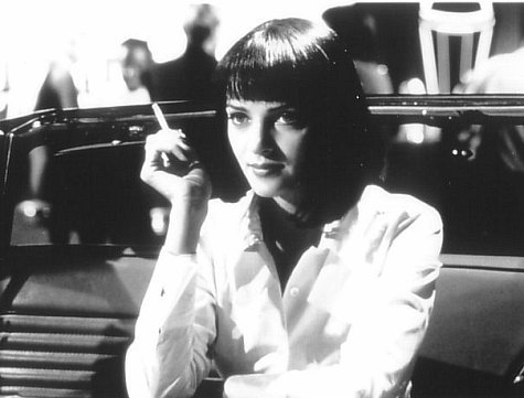 #4: Uma Thurman in Pulp Fiction