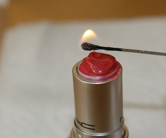 How-To: Repair a Broken Lipstick