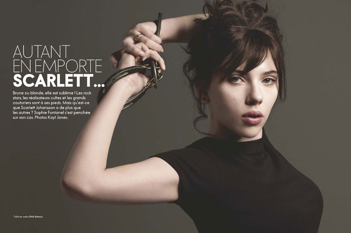 Scarlett in Elle France