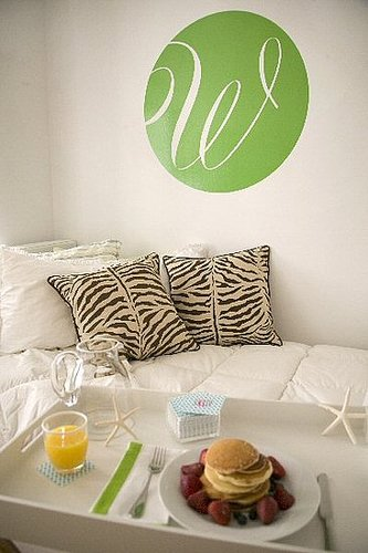 Pimp Your Crib:  Monogrammed Wall Art