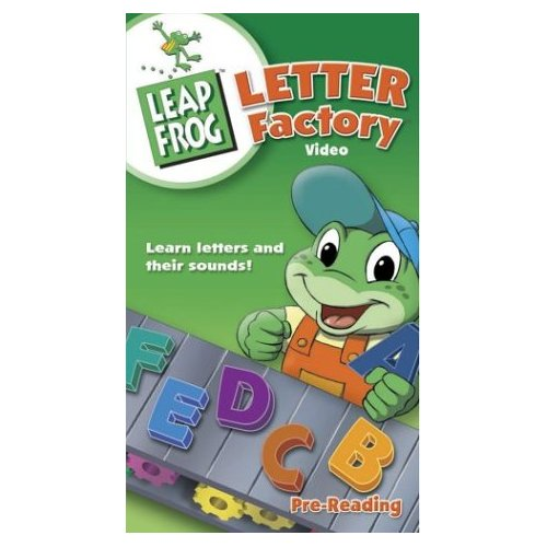 Wee TV:  LeapFrog Letter Factory