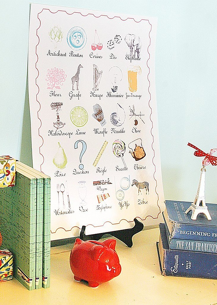 Bibitty French Alphabet ($38)