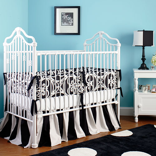 Black And White Nursery Decor Popsugar Moms