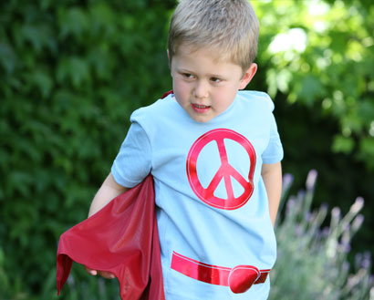Little Capers Super Hero Shirts