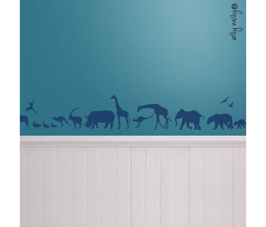 Safari Wall Graphic
