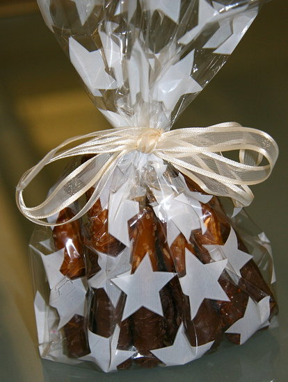 Chocolate Covered Pretzel Party Favors