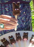 Chocolate Covered Peeps!