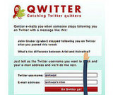 Watch For Quitters With Qwitter