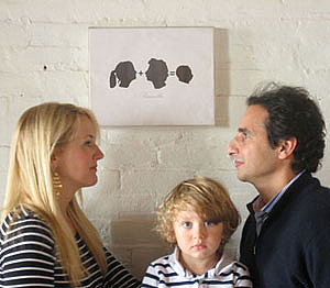 DIY: Family Silhouettes 