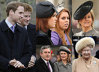 Photos of the Royals Including Prince William and Prince Harry at the Unveiling of the Queen Mother Statue