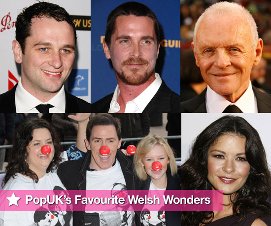 PopSugarUK's Pick of Welsh Celebrities to Celebrate St David's Day 2009-02-26 23:00:00
