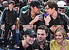 09/03/2009 Gossip Girl Cast at a Knicks Game