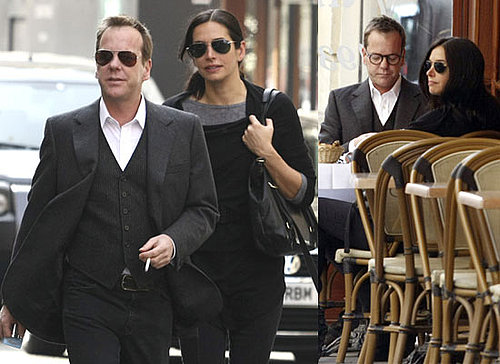 Photos of Kiefer Sutherland With His Girlfriend in Paris