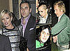 Photos Of Kate Moss, David Walliams, Rhys Ifans, Noel Fielding and Alice Dellal Out In London At Movida.