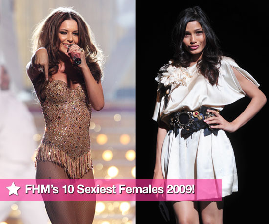 FHM's Ten Sexiest Females 2009!