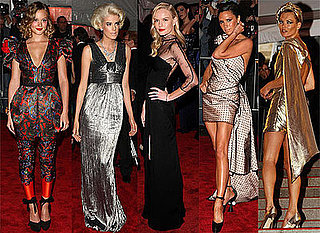Photos From The 2009 Costume Institute Gala In New York, Including Kate Moss, Leighton Meester, Agyness Deyn, Victoria Beckham