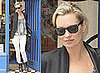 Photos of Kate Moss Who Has Turned To Buddhist Meditation as Summer Topshop Line Launches