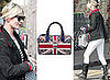 Kate Moss Shows Off her Gucci Sloane Handbag