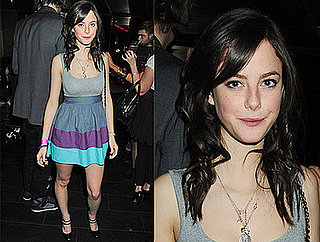 Kaya Scodelario at Teenage Cancer Trust Party, Effy from Skins Dress
