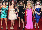 Emma Rigby, Kara Tointon, Charley Webb and Kym Marsh at 2009 British Soap Awards