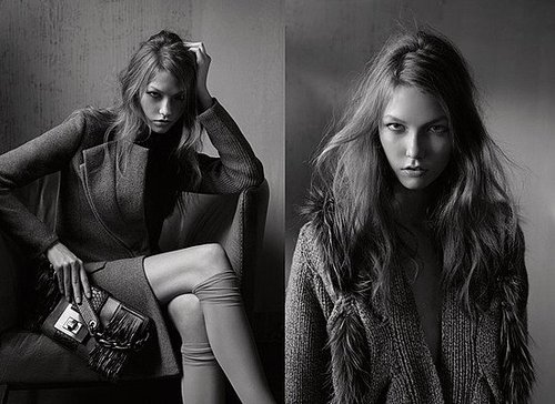 Photos of Karlie Kloss for Pringle Ad Campaign Autumn 2009 Shot by Fabien Baron
