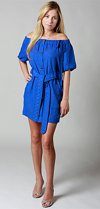 Electrical Driver Dress by Nuj Novakhett - FREE UPS 2nd Day Air - buydefinition.com