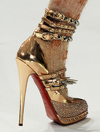 Hot or Not: Christian Louboutin For Rodarte Spikey Heels