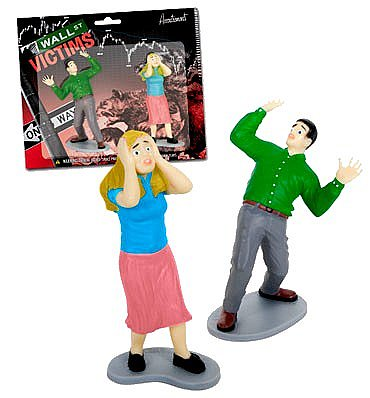 Wall Street Victims Action Figures