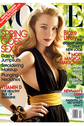 Blake Lively In VOGUE
