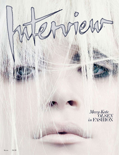 Mary-Kate Interview Magazine Cover