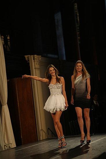 Alessandra and Doutzen Are Webby