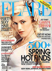 gwen stefani magazine covers