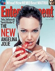 angelina jolie sexy  magazine covers