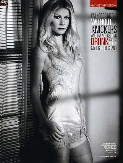 Gwyneth Paltrow does GQ magazine june 2008