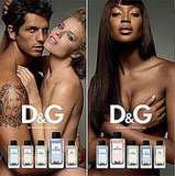 D&G fragrance Anthologie ad campaign