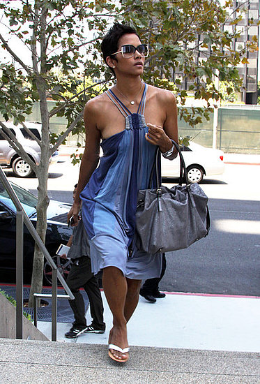 Halle Berry out in Century city