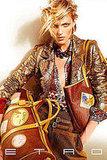 Аня Рубик в рекламе новой коллекции Etro.