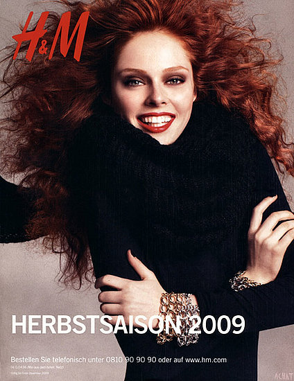 Coco Rocha does H&M Fall ad campaign