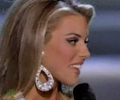 Miss California Is Anti Gay Marriage.