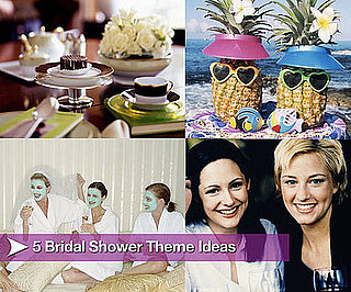 Five Bridal Shower Theme Ideas